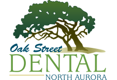 Oak Street Dental North Aurora Logo